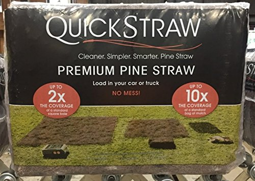 Pine Straw, Long Leaf - Up to 1500 SqFt by Quick Straw
