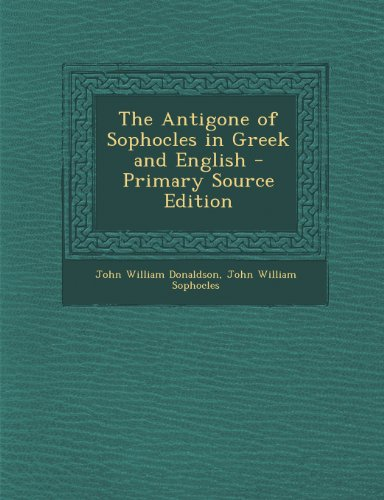 the power of choice in sophocles antigone In antigone, sophocles describes the  the conflict between the individual and the power of the  when faced with a choice that would preserve.