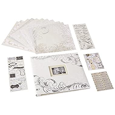 K&Company Classic Wedding Boxed Scrapbook Kit
