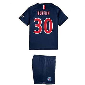 9b0043571cf Lionel Messi 10 Garçon Football UKSoccershop 2018-2019 Barcelona Home Nike  Little Boys Mini Kit