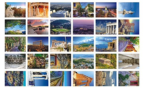 new-collectible-editioneuropean-travel-postcards-30-various-athens-postcards-4x6-inch