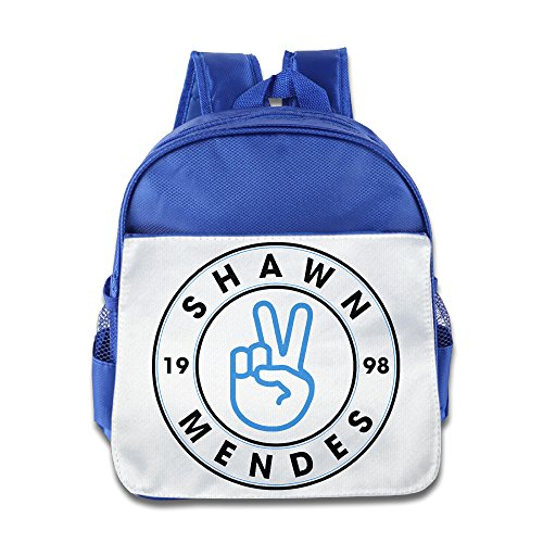 XJBD Custom Personalized Shawn Mendes Boys And Girls School Bagpack For 1-6 Years Old RoyalBlue