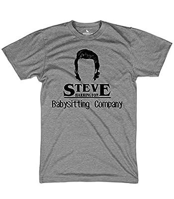 Guerrilla Tees Steve Harrington's Baby Sitting Company Shirt Funny Tshirts