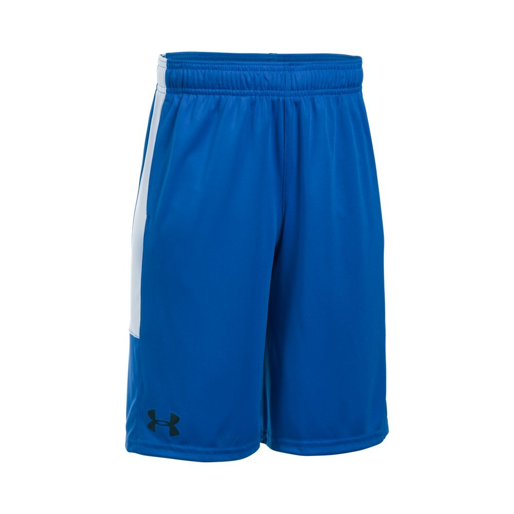 Under Armour Boys Instinct Shorts,Ultra Blue /Black Youth Small by Under Armour