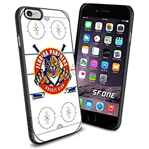 Florida Panthers Rink Ice #2123 Hockey iPhone 6 (4.7) Case Protection Scratch Proof Soft Case Cover Protector
