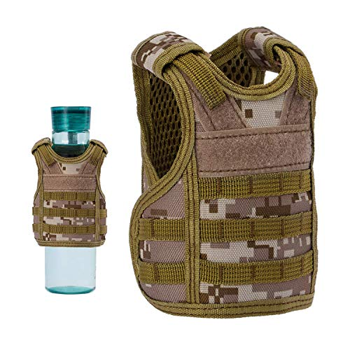 Camping & Hiking Sports & Entertainment Beer Vest Mini Tactic Military Vest For Beer Bottle Miniature Wine Bottle Cover Vest Beverage Cooler Camping Hiking Accessories Volume Large