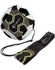 Trainer da Calcio Attrezzatura Banda Elastica per L'Allenamento Individuale con Cintura Regolabile per Bambini Adulti