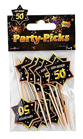 Forum Novelties X81643 - Púas para fiesta de 50 cumpleaños ...