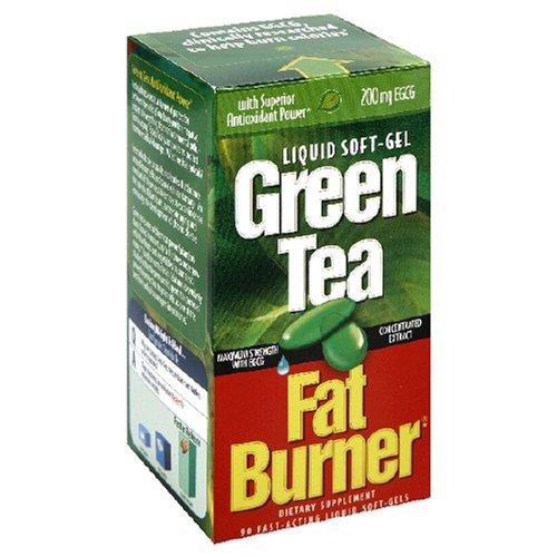 Applied Nutrition thé vert brûleur de graisse, la force maximale de 400 mg d'EGCG, à action rapide, 90 Liquide Soft-Gels (Pack de 2)