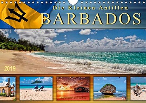 Die kleinen Antillen - Barbados - Traumhafte Strände, azurblaues Wasser - die Postkartenidylle schlechthin. (Wall Calendar 2019, 14 Pages, Size DIN A4 = 8.27 x 11.69 - Calendar Barbados