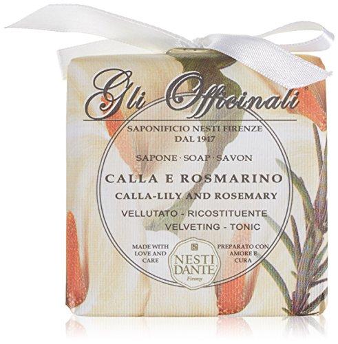 Nesti Dante Calla-Lily Rosemary Soap 200 grams Bar