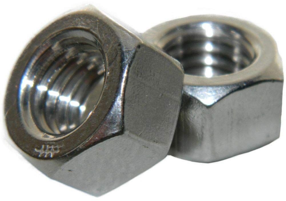 M12-1.75 Finished Hex Nuts Stainless Metric Quantity 250 by Hontools
