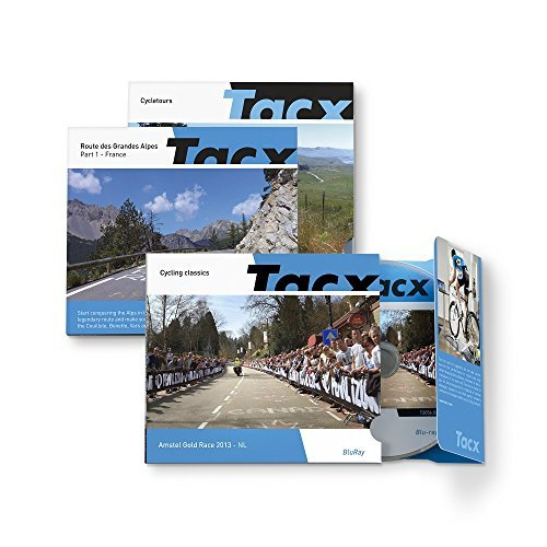 Tacx Films Real Life Video Mountain Stages Raid Pyrenees I - France (Blu-Ray) ()
