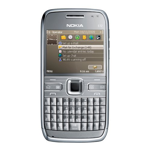 - Nokia E72 Unlocked GSM Featuring GPS with Voice Navigation Smartphone Grey