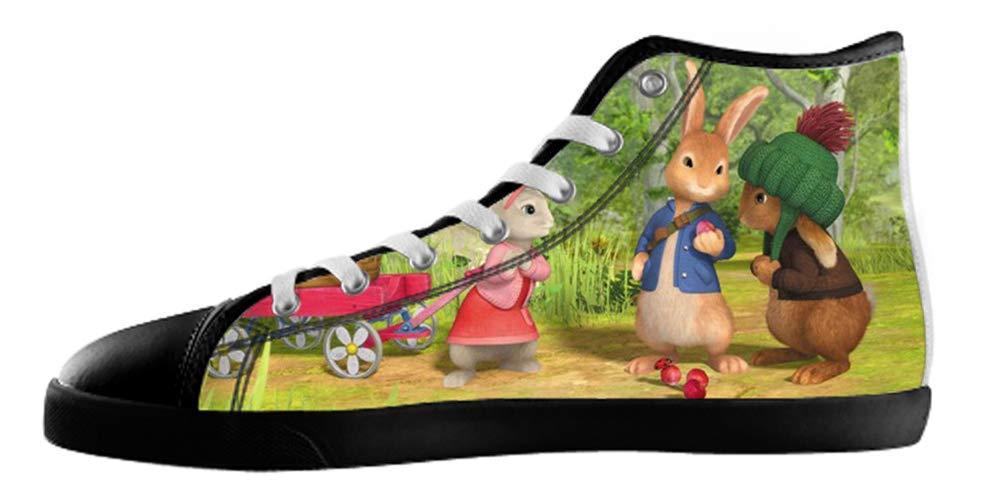 Men's Rock Style High Top Canvas Shoes Rock Style Canvas Shoes for Men EUR43=US10|Black3