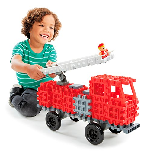 - Little Tikes Waffle Blocks Vehicle Fire Truck