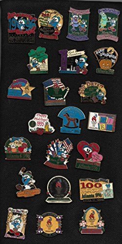 1996 Centennial Olympic Games In Atlanta Lot Of 22 Commemorative Pins Mounted