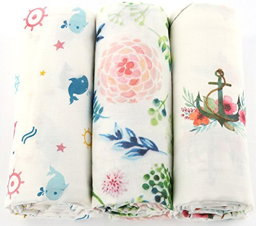 Muslin Cotton Swaddle Blankets 47