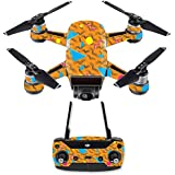 MightySkins Skin For DJI Spark Drone & Controller - 90s Tiger | Protective, Durable, and Unique Vinyl Decal wrap cover | Easy To Apply, Remove, and Change Styles | Made in the USA