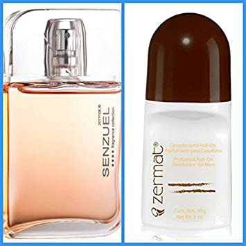 Amazon.com : Zermat Senzuel Colecciones EDT Spray For Men 2oz, Perfume Para Caballero 60ml (ATTRACTION) : Beauty