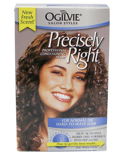 Ogilvie Precisely Right Perm: For Normal or Hard-To-Wave Hair by Ogilvie