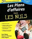 Les plans d'affaires pour les Nuls: Édition spéciale Québec !