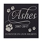 Cheap Cat Paws Forever In Our Hearts Cat Memorial Personalized Grave Stone For Cat | Granite