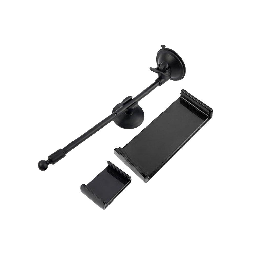 UKCOCO Tablero del parabrisas Brazo largo Soporte flexible del coche para la tableta del telé fono mó vil (LP-3C)