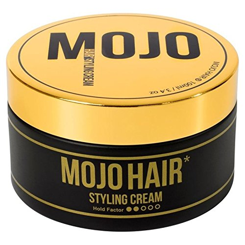 MOJO HAIR Styling Cream for Men 100ml (PACK OF 4) by Mojo