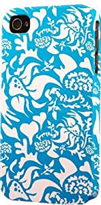 Antique Blue & White Pattern Dimensional Case Fits Apple iPhone 5c Kimberly Kurzendoerfer