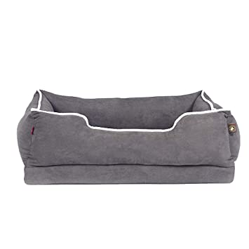 ZZ pet bed Cama para Perros, Winter Keep Warm Soft Impermeable Lavable No pegajoso Canasta