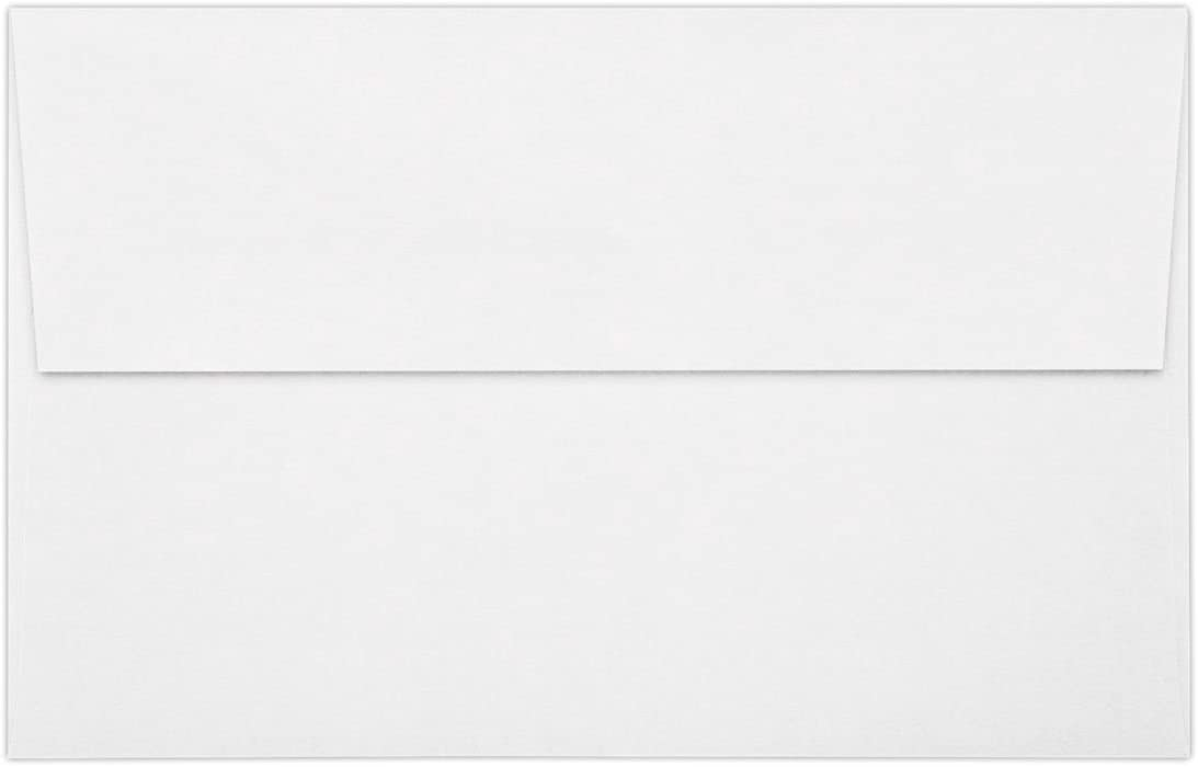 A10 Invitation Envelopes w/Peel & Press (6 x 9 1/2)- 80lb. White w/Peel & Press (50 Qty) | Perfect for Invitations, Greeting Cards, Thank You Cards, Announcements and so Much More! | FE4590-05-50