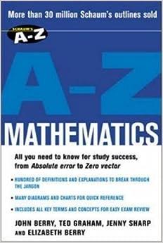 Book Schaum's A-Z Mathematics by John Berry (2003-06-06)