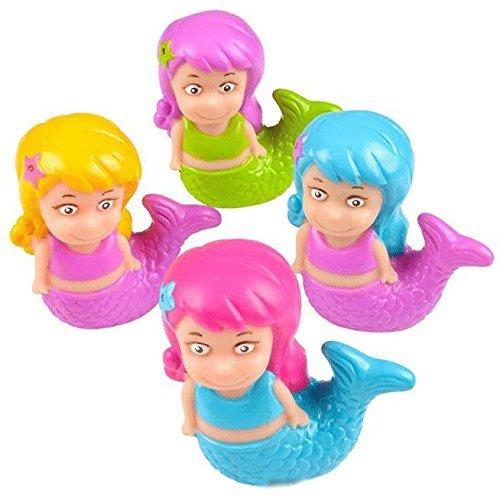 Mermaid Squirt Toys - 12 pc
