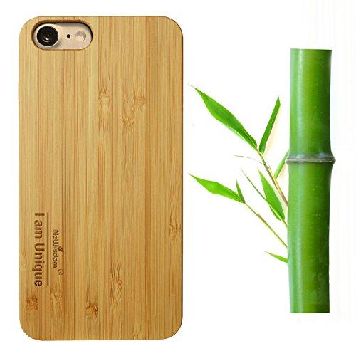 NeWisdom iPhone Bamboo Handmade Rubber