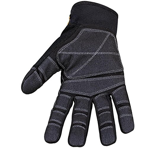 Youngstown Glove 03-3060-80-M General Utility Plus Performance Glove Medium, Black