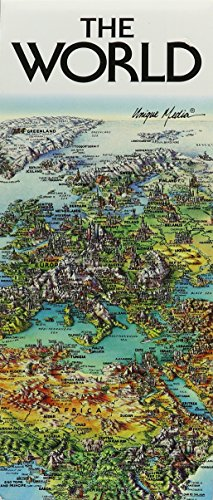 World Folded Map Unique Media