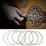 Oud Strings Set, Nylon and Silver-Plated Copper