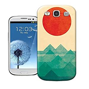 Haoyucase samsung galaxy s3 case The ocean the sea the wave famous art patterngreen plastic samsung galaxy s3 case cover
