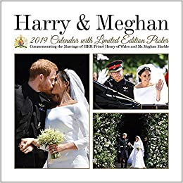 The Royals Harry And Meghan December 2019 Calendar Prince Harry & Meghan Markle Commemorative 2019 Royal Wedding