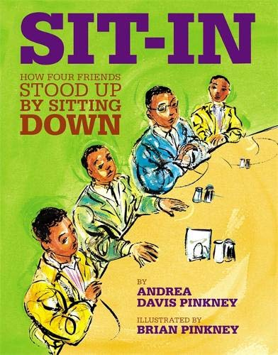 Book cover Sit-In: how four friends stood up by sitting down