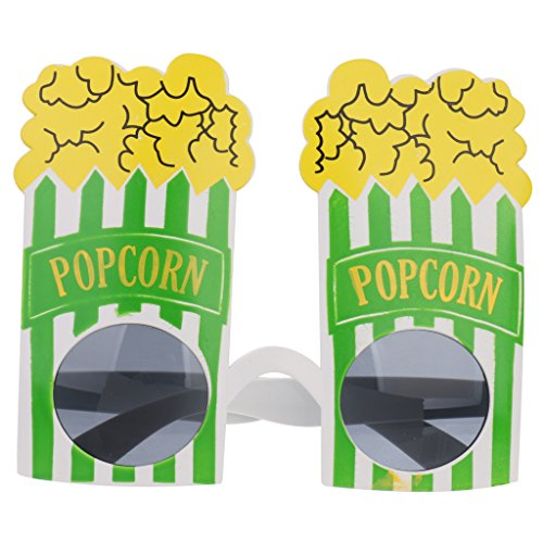 [Novelty Popcorn Sunglasses Fancy Dress Costume Party Glasses Shades Googles] (Popcorn Costume)