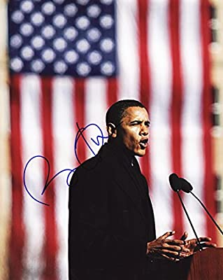 Barack Obama Signed Autographed 8 X 10 Reprint Photo - Mint Condition