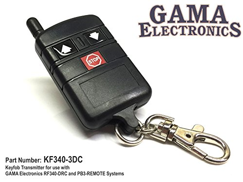 - GAMA Electronics Replacement 3-Button Overhead Door Transmitter