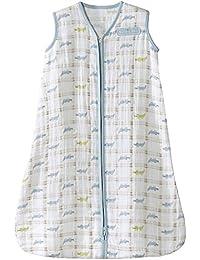 100% Cotton Muslin Sleepsack Wearable Blanket, Gator...