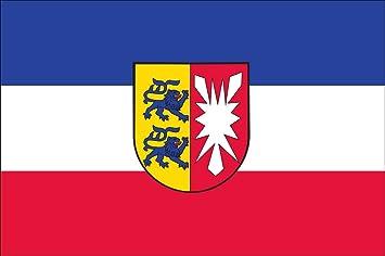 Flaggenmeer Flagge Schleswig Holstein Mit Wappen 160 G M Ca 120