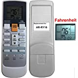 Replacement for Friedrich Air Conditioner Remote Control Model Number AR-RY16 works for M24CG MW24C3F MW24C3G MW24CF MW24Y3F MW24YF MW30C3F MW30C3G MW30CF MW30CG MW36C3F MW36C3G MW36CF MW36CG