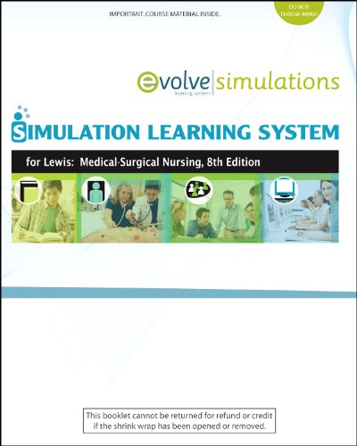 Simulation Learning System for Lewis et al:  Medical-Surgical Nursing (User Guide and Access Code): Assessment and Management of Clinical Problems, 8e