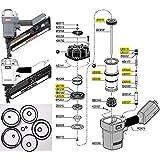 Paslode Mu212 Mu212f Finish Nailer Rebuild Kit Power