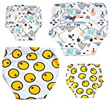 MooMoo Baby  4 Pack Potty Training Pants for Baby